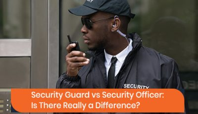 What is the difference between security guard and security officer?
