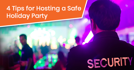 4 tips for hosting a safe holiday party